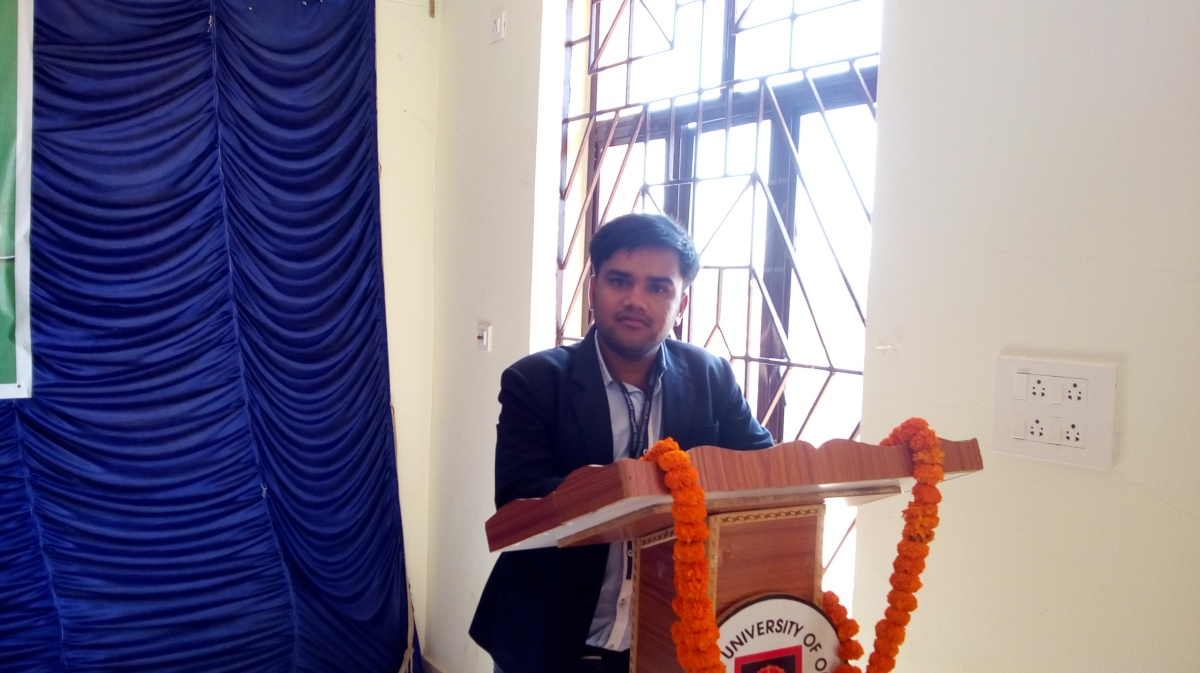 Vote of Thanks Speech by Pawan at DSTAT, CUO